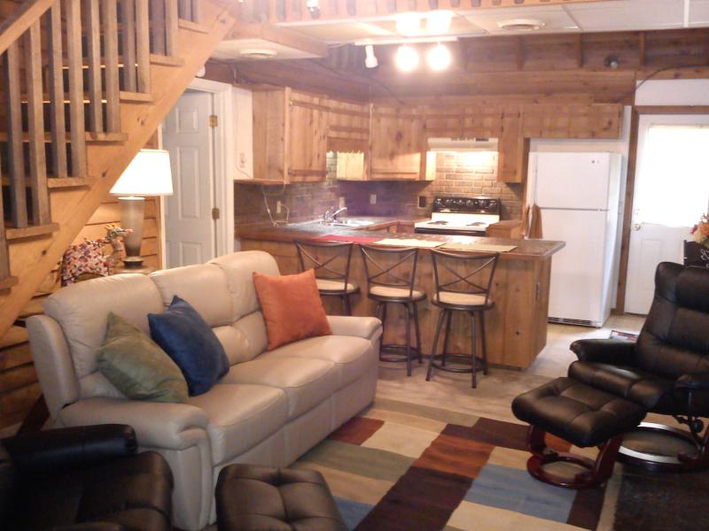 Den, Breakfast bar, kitchen - Sweethome Place Vacation Rental - Chapmansboro - rentals