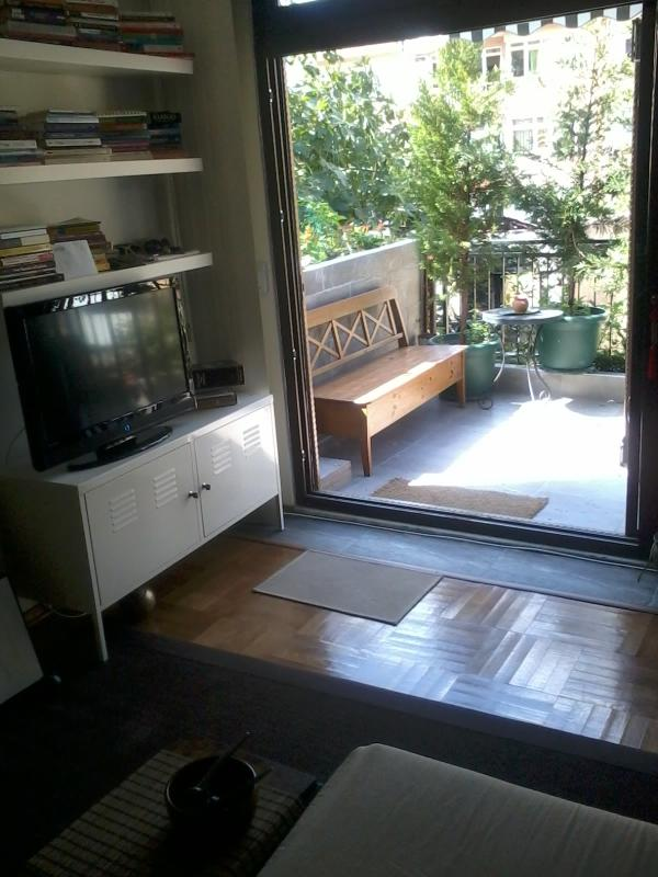 CENTRAL, GREEN, QUİET 1BR W TERRACE close to Bahcesehir Uni.,Galatasaray Uni., Bogaizi Uni. - Image 1 - Istanbul - rentals