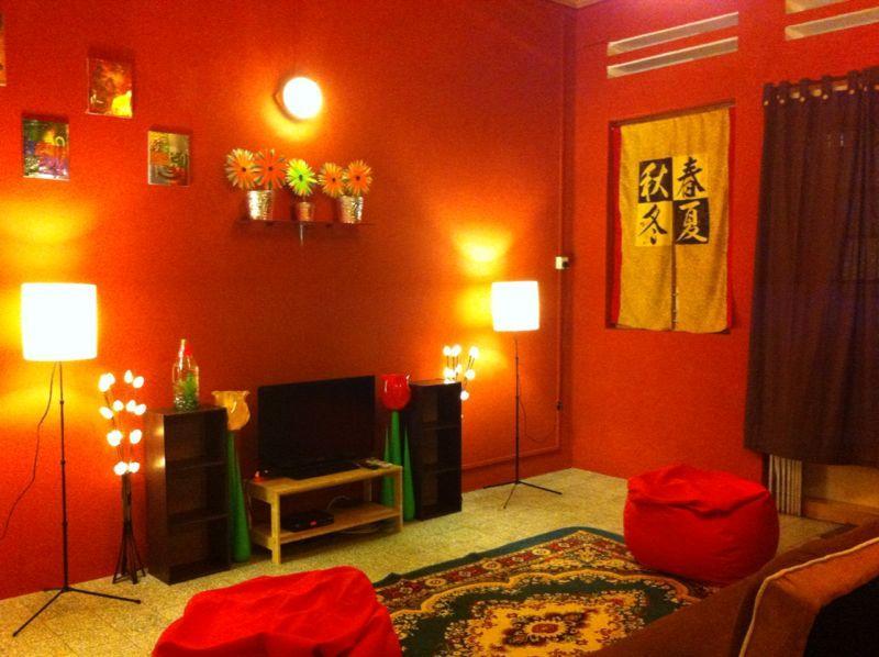 Cozy living room - Cozy 3 bedroom house Georgetown Penang - Georgetown - rentals