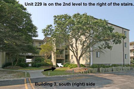 Streetside view of Building 3 in Topsail Reef - Topsail Reef 229 - BLD 3 - North Topsail Beach - rentals