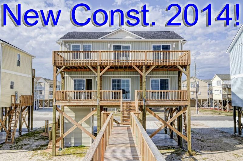 New for 2014! - New River Inlet Rd 1276 -4BR_SFH_OF_6 - North Topsail Beach - rentals