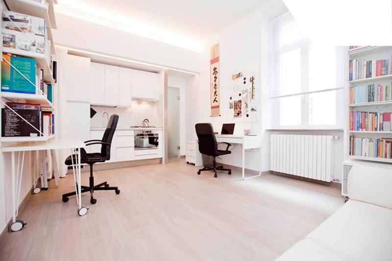 Living room - Day layout - Design Apartment - Milano City Center - Duomo - Milan - rentals