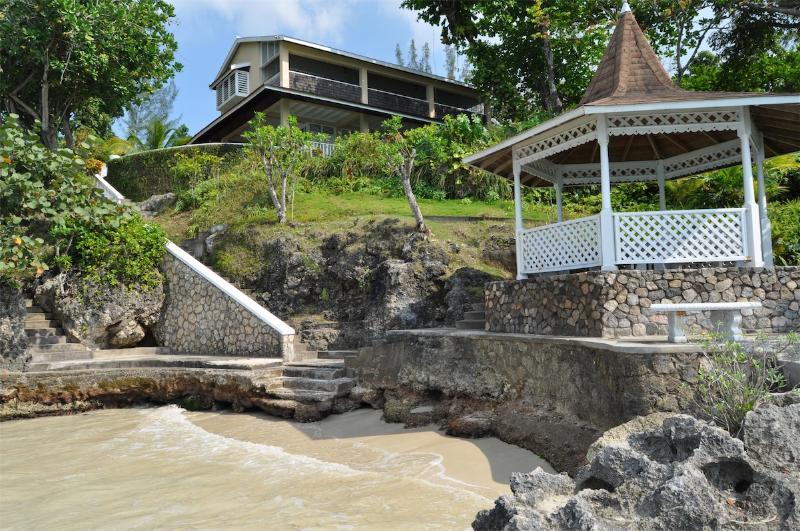 Afterglow (Mamiti Cove) at Ocho Rios, Jamaica - Beachfront Gazebo, Pool - Image 1 - Ocho Rios - rentals