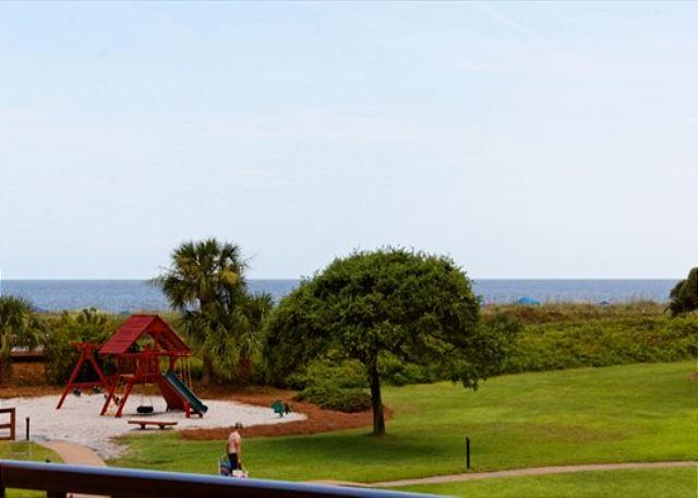 Balcony View - Many Updates and Renovations to Lovely 2BR/2BA Villa in an Oceanfront Resort - Hilton Head - rentals