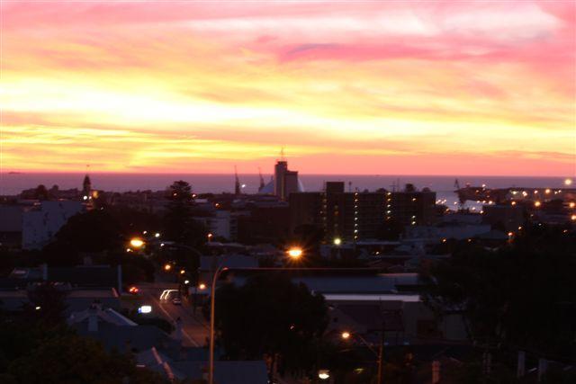 Indian Ocean Sunset - Ocean Sunset  Apartment Fremantle - Fremantle - rentals