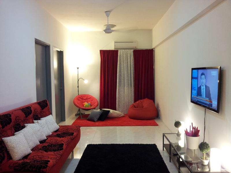 Living Hall - Level8 3 Bedrooms Vacation Home Ukay Perdana - Kuala Lumpur - rentals