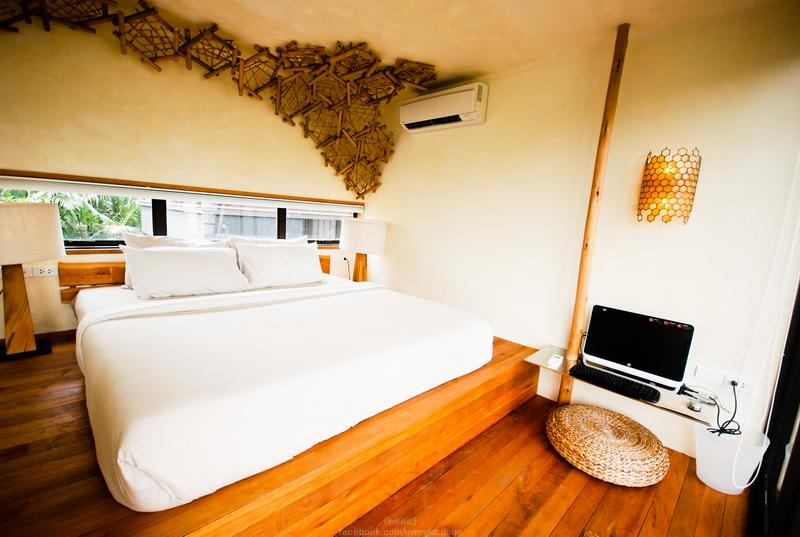 Bee theme room with comfy king size bed - Eco-Nest on Chao Phraya River +FreshCooked Brkfast - Bangkok - rentals