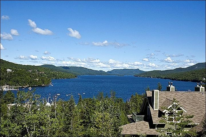 Beautiful Lake Views - Fabulous Views of the Lake and Ski Slopes - Located on the 10th Tee of Le Geant Golf Course (6175) - Mont Tremblant - rentals