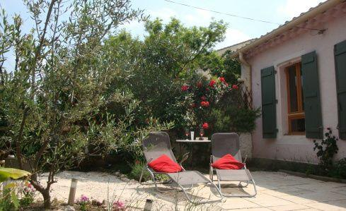 Relax in the sun - Wineworkers cottage - One bedroom cosy cottage with private garden - Pouzolles - rentals