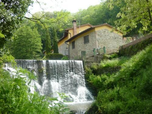 La cascata al entrata - Mulino del XVII secolo - Buggiano - rentals