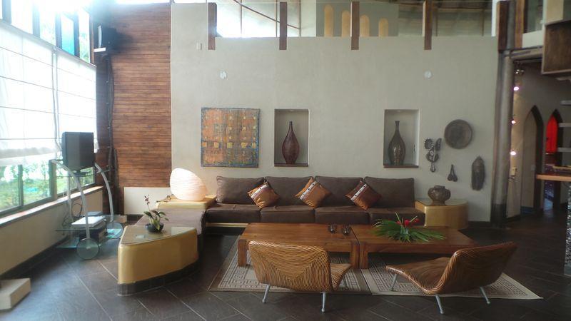 living room - Picasso House - Playa Samara - rentals