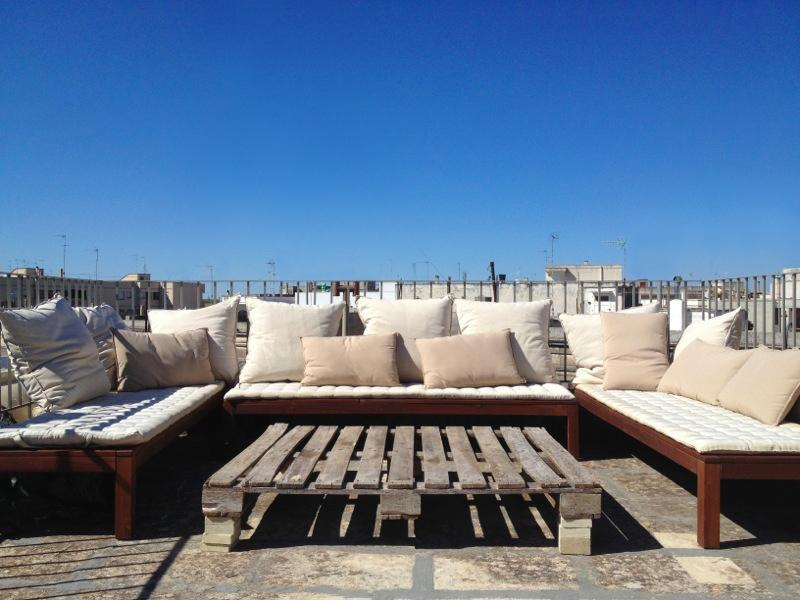 roof terrace - 1 bedroom designed house in Salento -Casa Pacifico - Cursi - rentals