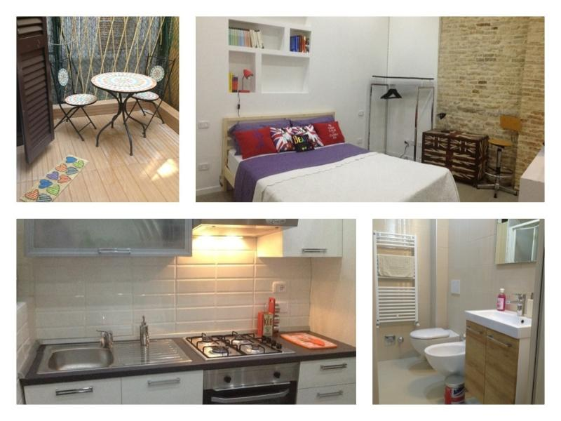 BRAND NEW Split Level Studio in the OLD TOWN, wifi - Image 1 - Bologna - rentals