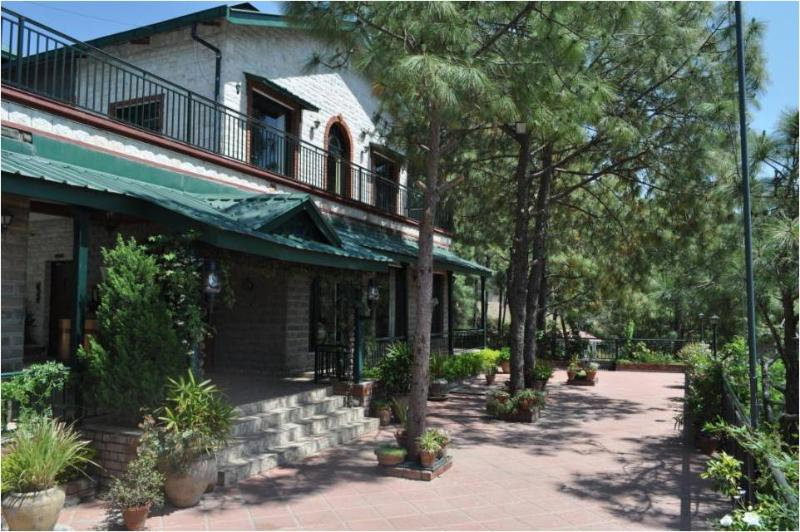 Front Elevation - Mystair, 5 Bedroom Villa, Kasauli Hills - Kasauli - rentals