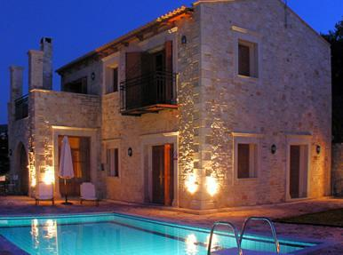 Rethymnon Crete: Greek villa with sea view horizon - Image 1 - Rethymnon - rentals