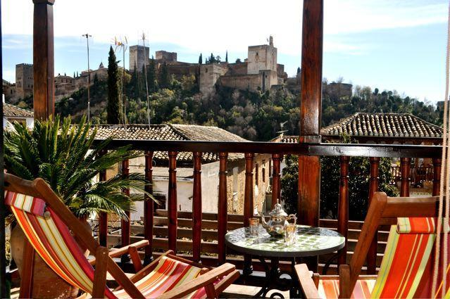 Terrace with a view - GRANADA -Beautiful family home with stunning views - Province of Granada - rentals