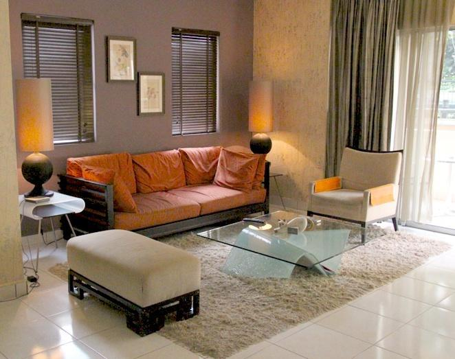 View of Spacious Living Room with open balcony - Amishahome  3 Bedrooms Holiday Rental Kuala Lumpur - Wilayah Persekutuan - rentals