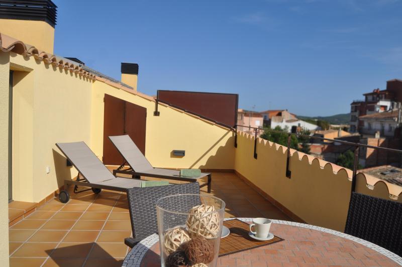 "Can Tarongeta_Apartment Penthouse_Terrace - Apt.2-1_""Can Tarongeta""  new with Old Style - Palafrugell - rentals"