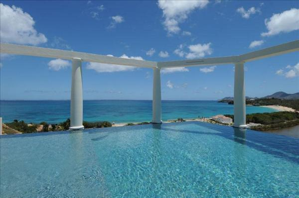 Heated infinity edge pool - 2 bedroom Lowlands St Martin - Terres Basses - rentals