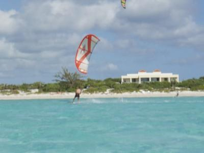 Kite in front of the Villa - Villa Esencia Suite - Beach, Serene, Natural, Jeep - Providenciales - rentals