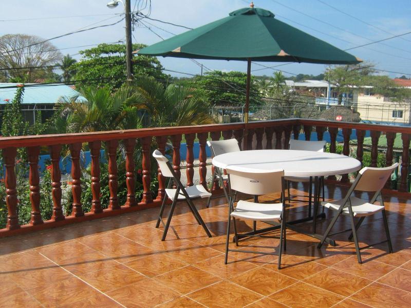 Orange House - upper balcony - Large house with full service on Bocas del Toro! - Bocas del Toro - rentals