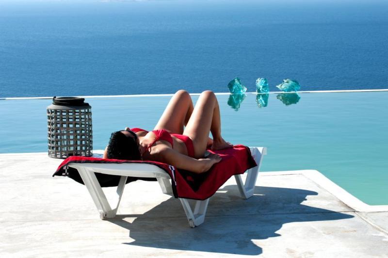 Luxury Mykonos  Villa with pool and sea views - Image 1 - Mykonos - rentals