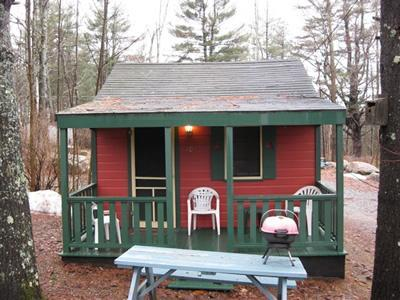 Exterior of Cottage 9 - Sun Valley Cottages, Cottage #9 - Weirs Beach, NH - Laconia - rentals