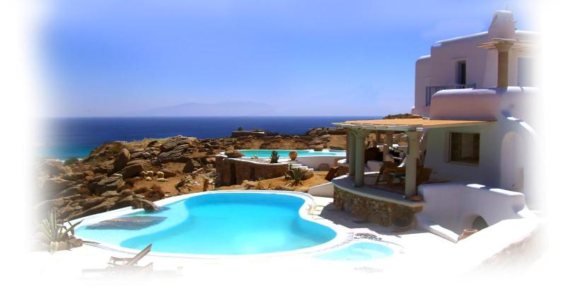 A private luxury villa to rent in Mykonos - Image 1 - Mykonos - rentals
