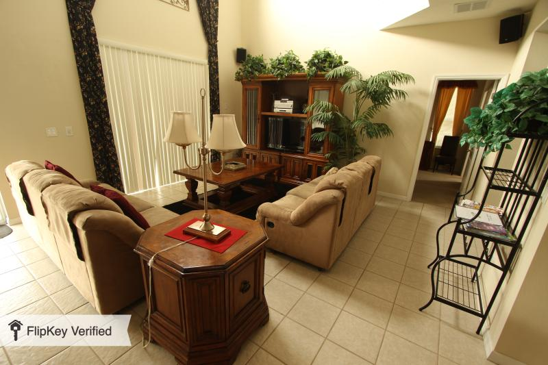 Family Room View 1 - Beautiful 6 Bedroom Home, Diamond on the Island at - Kissimmee - rentals