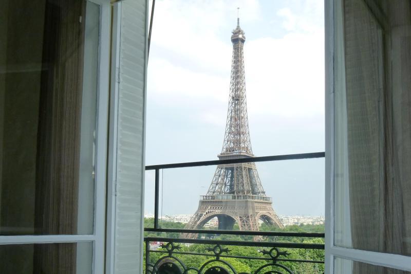 The view - Trocadero - Eiffel Tower - Paris - rentals
