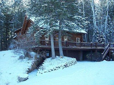 Exterior Winter View - Big Hole Mountain Lodge - Driggs - rentals