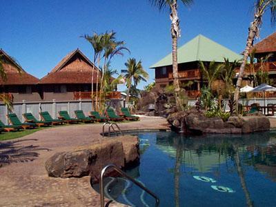 Pools and buildings - Wyndham Kona Hawaiian Resort, GORGEOUS & tropical! - Kailua-Kona - rentals