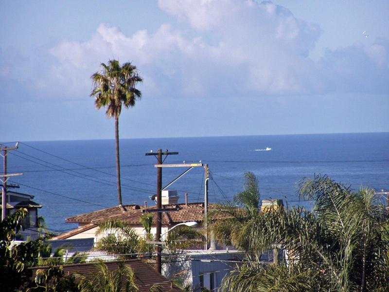 View from upstairs bedroom(s) - Ocean view 3-bedroom house in Hermosa Beach, Calif - Hermosa Beach - rentals