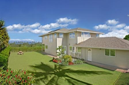 Back Yard View - Exec Lower Ohana:1-bed, 1-bath, Ocean View Cottage - Kihei - rentals