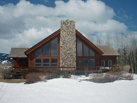Main Exterior - Teton River Retreat - Driggs - rentals