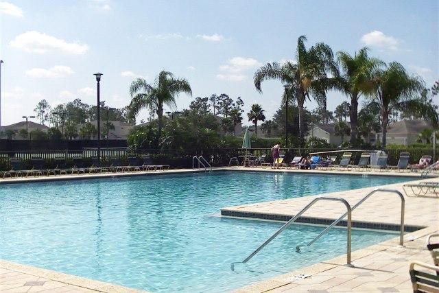 Main Pool - 2 Bed 2 Bath First Floor Condo in Estero, Florida - Estero - rentals