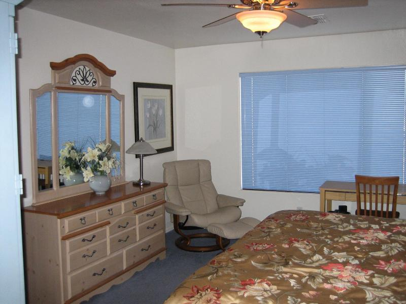 Huge Master Bedroom with King Size Bed - Coyote Lakes Golf Course Home in Surprise Arizona - Surprise - rentals