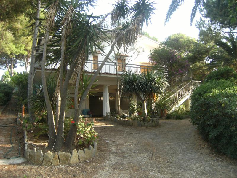 Villa Enza - Main entrance - Villa Enza in Castellammare del Golfo, west Sicily - Castellammare del Golfo - rentals