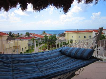 Beautiful ocean view from Villa Patti's 3rd floor terrace - Amazing 3 bdrm Villa with Private beach & Pier! - Cozumel - rentals