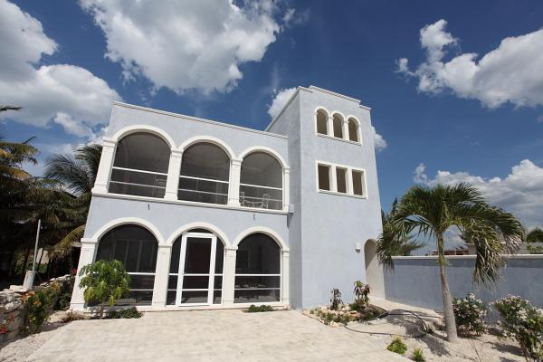 Casa Marina on a typically beautiful day! - 2 Bedrooms With a View of Marina by the Beach - Telchac Puerto - rentals