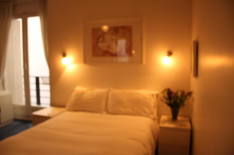 queen size bed - Lovely Apartment near  Eiffel Tower with Garage. - 8th Arrondissement Élysée - rentals