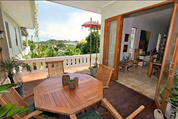 Balcony - 2 BR penthouse apt  Seminyak - The Leha Leha Suite - Bali - rentals