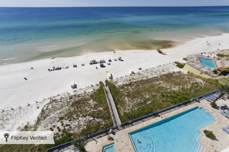What more do you need - pool and beach - Luxury Oceanside 2 Bedroom with Bunk in Panama City - Panama City Beach - rentals