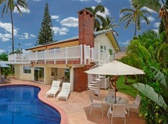 Lahaina Gate House 4-bed 3-bath Ocean View Pool - Image 1 - Lahaina - rentals