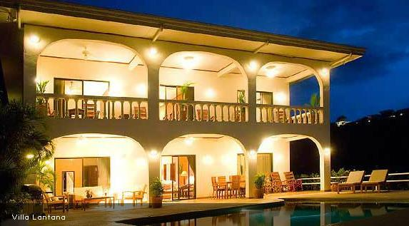Four bedroom villa with pool, gorgeous ocean views - Image 1 - Playa Ocotal - rentals