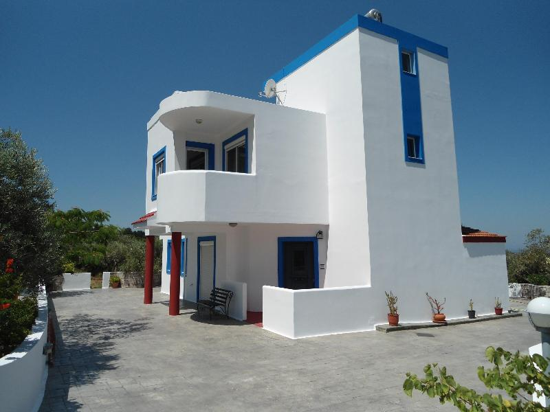View of Villa - Olive Branch Villa - Panoramic Sea/ Mountain Views - Kos - rentals