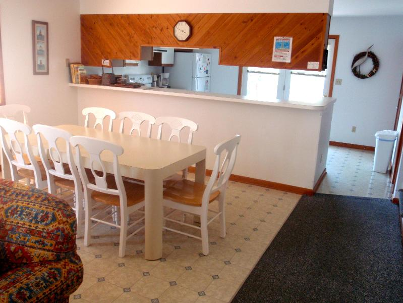 Dining area - 4 Bdrm, N Bethany Duplex - 50 Steps From The Beach - Bethany Beach - rentals