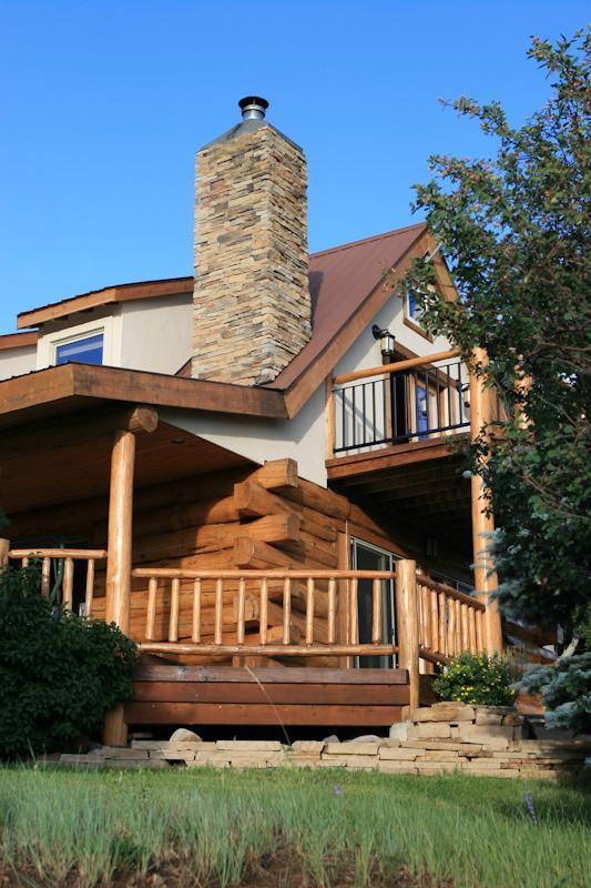 North Corner of Thunderbird Lodge - Thunderbird Lodge - Meeker - rentals