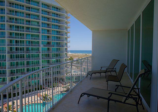 Balcony View - Caribe C607 - May 11-22 - 35% Off with 7 Night Minimum - Orange Beach - rentals