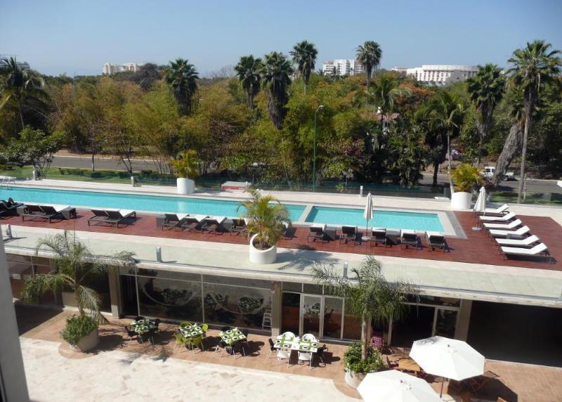 View from condo - New 2 BD/1BA condo in 3.14Living Nuevo Vallarta - Nuevo Vallarta - rentals